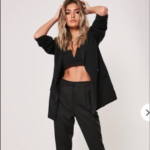 NwtMiss guided Tailored longline black blazer
